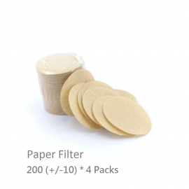 DGPod Paper filter bundle 4 x 200pcs