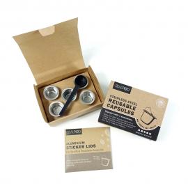 ΝΕΑ ΣΥΣΚΕΥΑΣΙΑ - Σετ 5 κάψουλες με 120 τεμ Espresso Lids