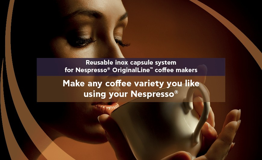 Free-up your machine and brew any coffee blend you like!